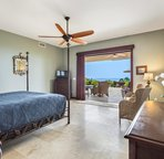 Master Bedroom 1 with King Bed & Access to Lanai
