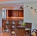Indoor Dining Area Off Living Area and Kitchen