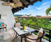 Spacious lanai to relax and take in the views
