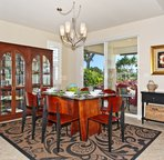 Dining Area with Doors to Lanai