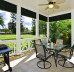 The Home has a Large Lanai Just off the 10th Fairway
