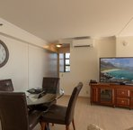 This condo comes equipped with 2 central cooling units!  Very quite, and very nice and cool!