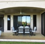 Spacious Lanai with comfortable seating