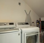 Full sized washer/dryer in the complex