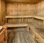 Saunas located in the locker rooms on the 6th floor recreation deck