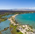 Anaehoomalu Bay is within walking distance