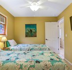 Bedroom 5 with Twin beds - Convertible to King for a fee.