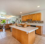 Open concept Kitchen, living and dining. Perfect place to make Hawaii memories!!!