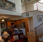 Living Area/Stairs to Master Bedroom
