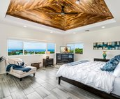 Wake up in the Master Suite King Bed to Ocean Views