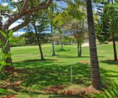 A View of the Golf Course from the Home's Lanai