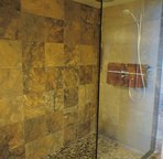 Master Bathroom Tiled Walk In Shower