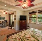 Master Bedroom plus office area