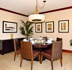 Spacious Dining Area with Seating for Six