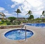 Hillside Villa's Pool and Hot Tub
