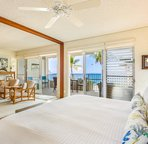 Ocean View Master Bedroom with access to Lanai
