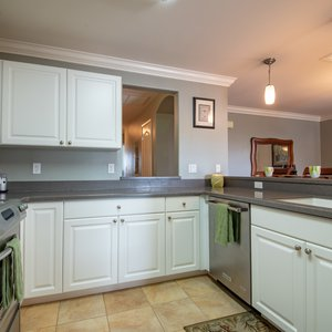 Here's Your Large Kitchen with Stainless Appliances