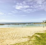Located on the Ko Olina Resort, this home is just 1.5 miles from the beach.