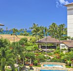 Ko Olina Beach Villas Grounds and Ocean