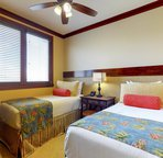 Second Bedroom has two Twin Beds that can be Converted to a King upon Request