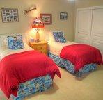 Blue Hawaii room on main level