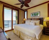 The Master Bedroom with a King Size bed