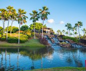 The Waterfall at the 12th Tee of the Ko Olina Golf Course