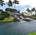 Waterfall at the 12th Tee of the Ko Olina Golf Course