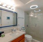 daytime lighting in the bathroom
