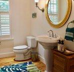 Half Bathroom Off Entry Hallway - easy access for Bedroom 2