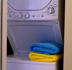 Convenient in-suite washer/dryer