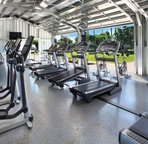 Amazing work out area at Poipu Athletic Club