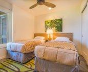 Twin Third Bedroom with Ocean Views!