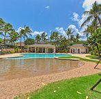 Sand Bottom Pool at Coconut Plantation