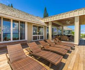 Lay out and catch some rays on your ocean view deck!