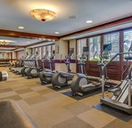 The Large, Fully Equipped Workout Facility