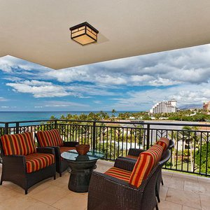 Fantastic view of the ocean from the lanai