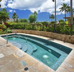 One of Three Hot Tubs at the Beach Villas at Ko Olina