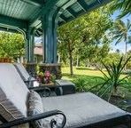 Spacious Lanai perfect for lounging & relaxation