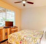 Ground Floor Bedroom with a Queen Bed
