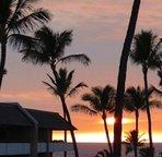 Beautiful Hawaiian Sunset from Lanai