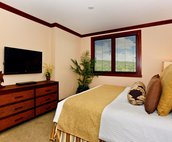 Spacious Master Bedroom with a King Size Bed