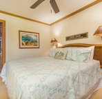 King Master Bed, HDTV, and Ceiling Fan to help keep you cool in Kauai