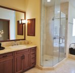 Bathroom 2 with Double Sinks,  Soaking Tub and Walk In Shower
