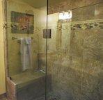 Large Walk In Tiled Shower