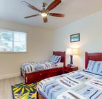 Third Bedroom with Twin Beds as well as a Trundle Bed