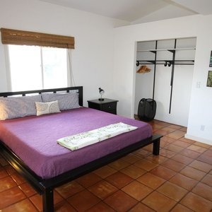 One of 3 very spacious bedrooms with king size bed.