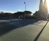 Waikoloa community tennis courts