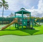 Children will surely enjoy this playground