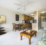 Eat in kitchen steps from the Lanai!